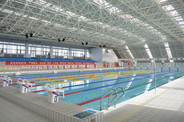 Swimming pool of xi 'an sports university