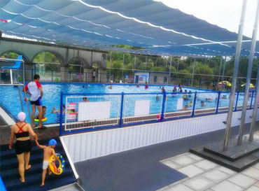 Swimming pool of yele valley water park, Dali, yunnan