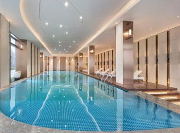 Guorun city clubhouse swimming pool